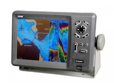 Onwa KP-8299C GPS Chartplotter & Sonar Fishfinder