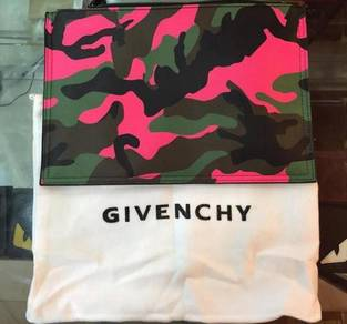 Givenchy Clutch Bag camo design