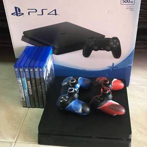 Ps4 500gb full set