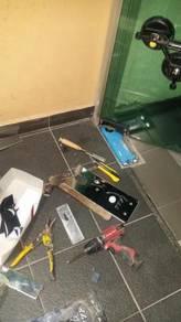 FLOOR SPRING REPLACEMENT l tukar hidraulik pintu