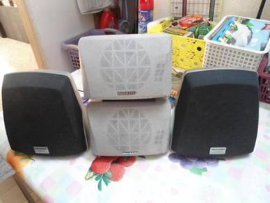 SHARP Surround Speakers- 2 pairs 16 ohms