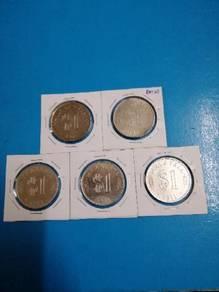 1971 RM1 Coin set