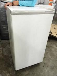 1 Door Fridge Freezer Sharp Peti Sejuk Ais Recond