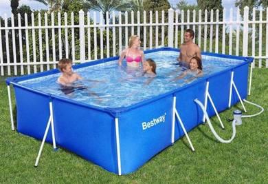 Bestway Rectangular Big Size Frame Pool