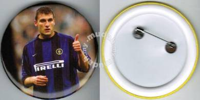 World Cup Football Player #9 Button Badge 58mm