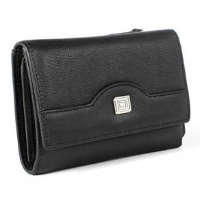 Ladies Compact Trifold - RFID Blocking