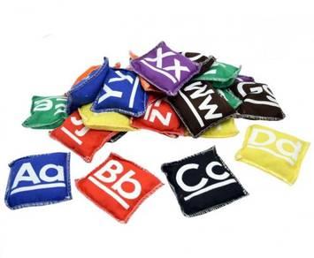 9cm Alphabet Bean Bags (26/set) - XE010-4