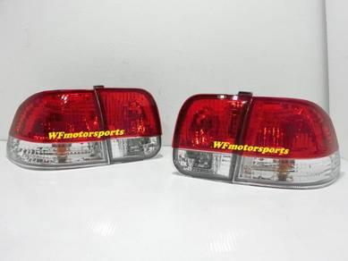 Honda Civic SO4 EK4 Crystal Tail Lamp Light 96 NEW