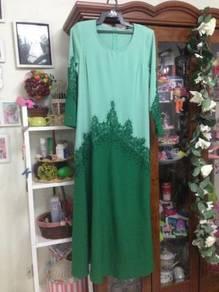 Jubah Dress Moden sara ann sz 40