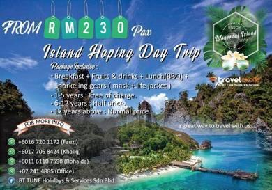 Bttuneholidays | ISLAND HOPING DAY TRIP