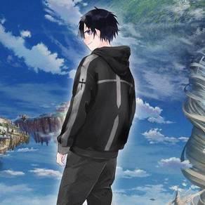 Anime SAO Kirito Jacket sweater