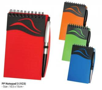 PP Notepad 3 (V23) with Pen