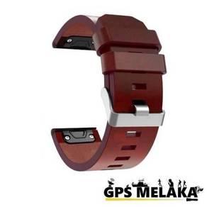 QuickFit Leather Band Strap Garmin Fenix 5X, 6X