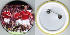 World Cup Football Player #5 Button Badge 58mm