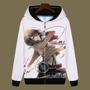 Attack of titan Mikasa Eren sweater