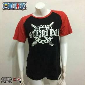 One Piece Eustass 'captain' kid t shirt baju tee