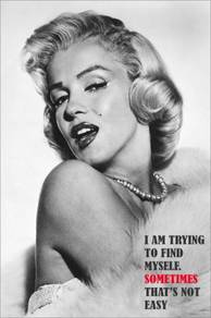 Poster MARILYN MONROE QUOTES N 5
