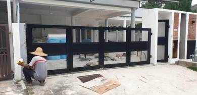 Main Gate, Grill, Awning, Poly
