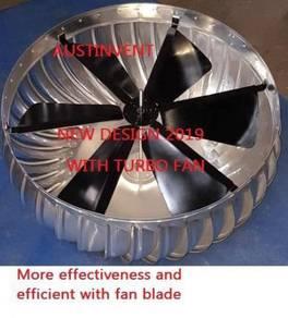 NEW TURBO turbine ventilator PERLIS
