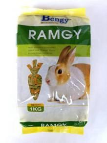 Bengy Ramgy 1kg Rabbit Food Makanan Arnab