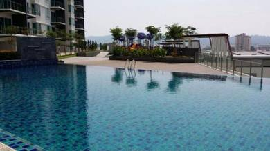 Elite Heights Condo , BayAN BARU 4-ROOMS(CORNER & SEAVIEW) 2 car parks
