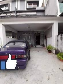 Full Loan 2.5 Storey Jalan Tiong Taman Scientex Pasir Gudang