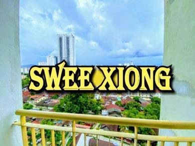 SYMPHONY PARK 750SF 1CP FullFurnish MidFloor CHEAPEST RENT JELUTONG