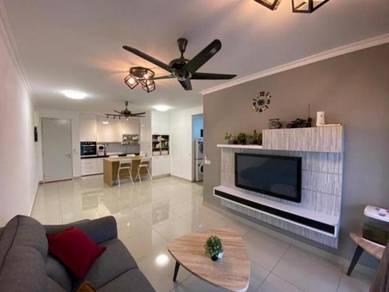 Reno/Furnished 3R2B Apartment D'cerrum Setia Ecohill Semenyih