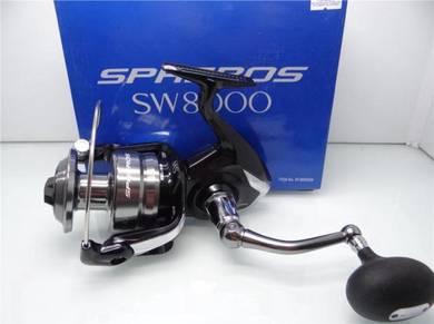 SHIMANO SPHEROS SW 5000-20000 Fishing Reel