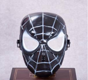 Spiderman black mask