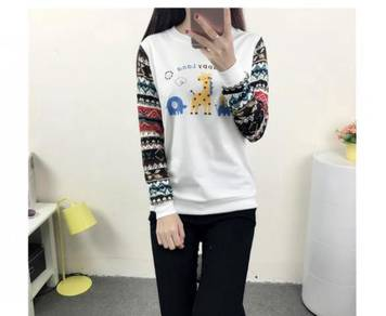 Colorful Sleeve Sweater( WFCLY 28628)