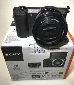 2 Months old Sony A5100 + 16-50mm Zoom lens 99%New