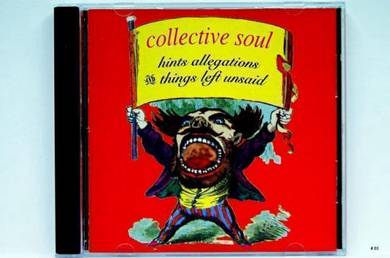 Original CD COLLECTIVE SOUL Hints Allegations [93]
