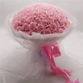 Pink flowers with delivery
