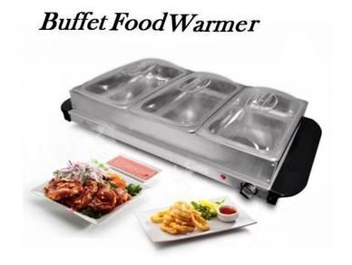 Buffet Food Warmer Bekas Pemanas Masakan Elektrik