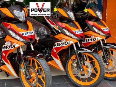 Honda Rs 150 Repsol (Ready Stock ) Wasap Apply