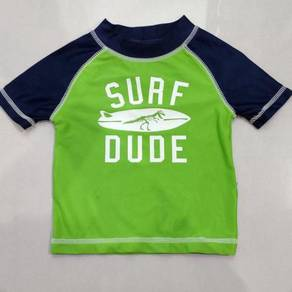 Carter's Dino Rash Guard Swimsuit
