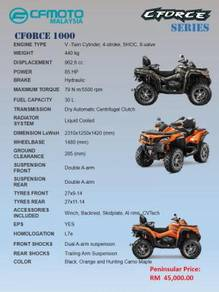 CFMoto All Terrain Vehicle ATV CForce 1000