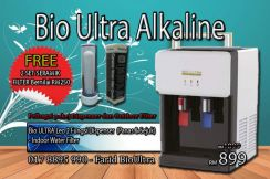 Model Leo Penapis Air BioUltra Alkaline