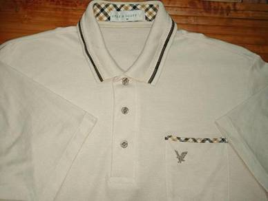 Authentic LYLE & SCOTT 1 Pocket SzL Collar Shirts