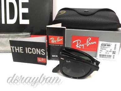 Original Ray Ban Wayfarer Folding RB4105