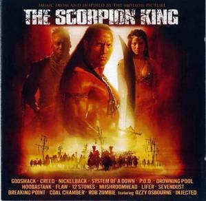 CD Cover SCORPION KING Soundtrack OST [02] SOAD
