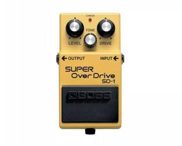 NEW Boss SD-1 Super OverDrive Guitar Pedal (SD1)