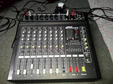 Power mixer 450w x 2 / 8 ohm