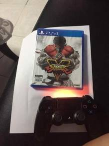 Game street fighter & ds4