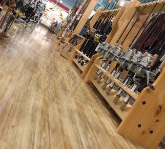 3MM Wood Vinyl Floorig ~ Wood PVC *Installation