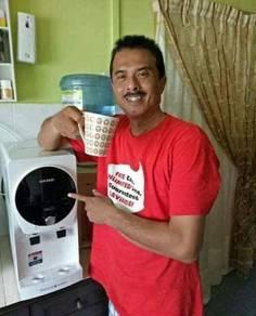 CUCKOO Water Filter Penapis Air Bukit Piatu Melaka