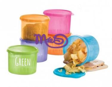 Tupperware Textured Canister 1.7L (GREEN)
