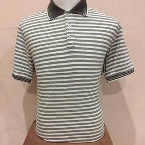 Armani Collezioni Green Striped Shirt Size XXL Gio