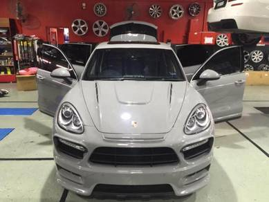 Porsche narno crystal colour full car painting